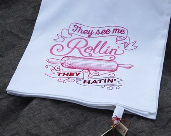 Rolling Pin Kitchen Towel