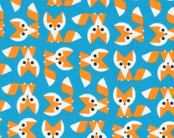Organic Cotton Laminate - Cloud9 Laminates - Foxes