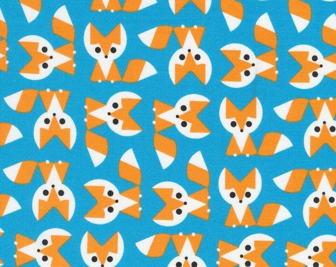 Organic Cotton Laminate - Cloud9 Laminates - Foxes
