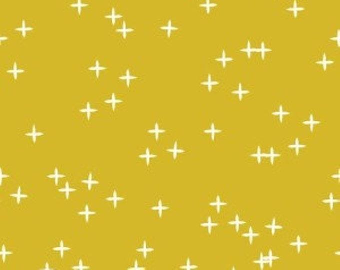 Organic KNIT Fabric - Birch Mod Basics 3 Knits - Wink Marigold Knit