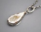 Drusy Geode Necklace