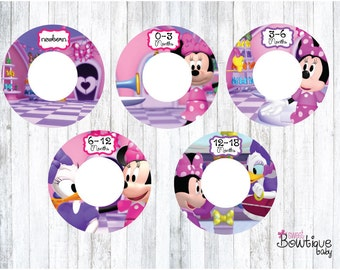 minnie mouse bowtique clothing dividers