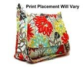 Modern Floral Purse, Colorful Canvas Bag, Ladies Messenger Bag, Crossbody Bag, Cross Body Purse, Floral Handbag, Fabric Pocketbook