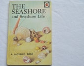 Vintage Ladybird Book, The Seashore, Childrens Book, 1970s Book, Sealife Book, Picture Book, Educational Book, Series 536