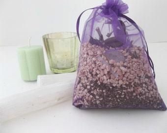 Meditation Blend MoJo Bag   Manifesting Sachet Bag   Focus Sachet Herb Bag   Aromatherapy Bead   Aroma Sachets   Natural Curio   Amulet Bags