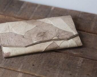 Leather Vintage Dutchess Design Clutch