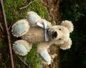 Randy OOAK Handmade Miniature Mohair Artist Teddy Bear