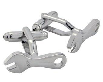 Pliers Cufflinks Silver Tools Cuff-Links 1200312