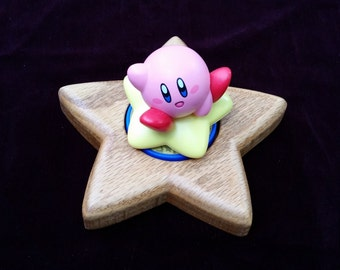 Amiibo Stand / Base Kirby Star / Candle Holder