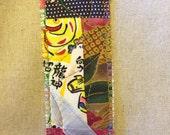 Unique quilted bookmark