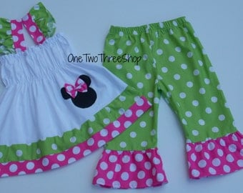 Custom Boutique Minnie Mouse Swing Top ONLY
