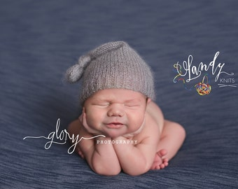 Newborn night cap.  Newborn photo prop