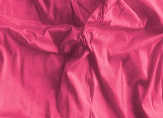 silk fabric - bubblegum pink - 100% pure silk - fat quarter - sld078