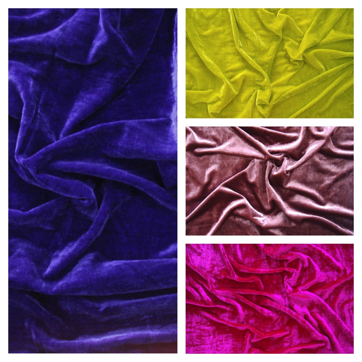 Yardbright coupon codes - Velvet Fabric By The Yard Velvet Fabric Fabric For Craft 1 Yard Dark Royal Blue Vlt040