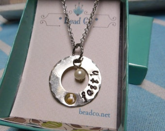 Faith of a Mustard Seed Necklace