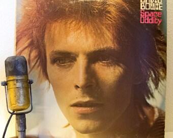 "ON SALE David Bowie Vinyl Record Album 1960s Rock Pop Theatrical LP ""Space Oddity"" (Original 1973 Rca)"