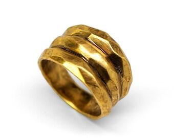 Gold Tres Montañas Ring