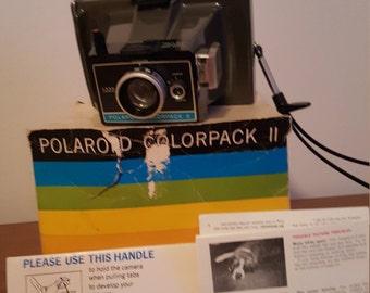 Vintage Polaroid Colorpack II