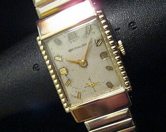 Wittnauer Watch - Beautiful c.1950's