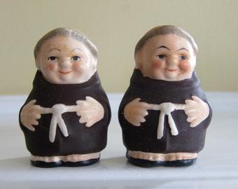 Vintage Goebel Friar Salt and Pepper Shakers