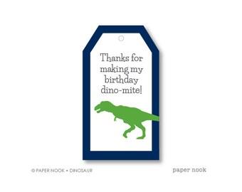 Dinosaur PRINTABLE Gift Tag