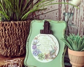clip easel stand + #TheAdoptShoppecard(s) bundle -- mint green