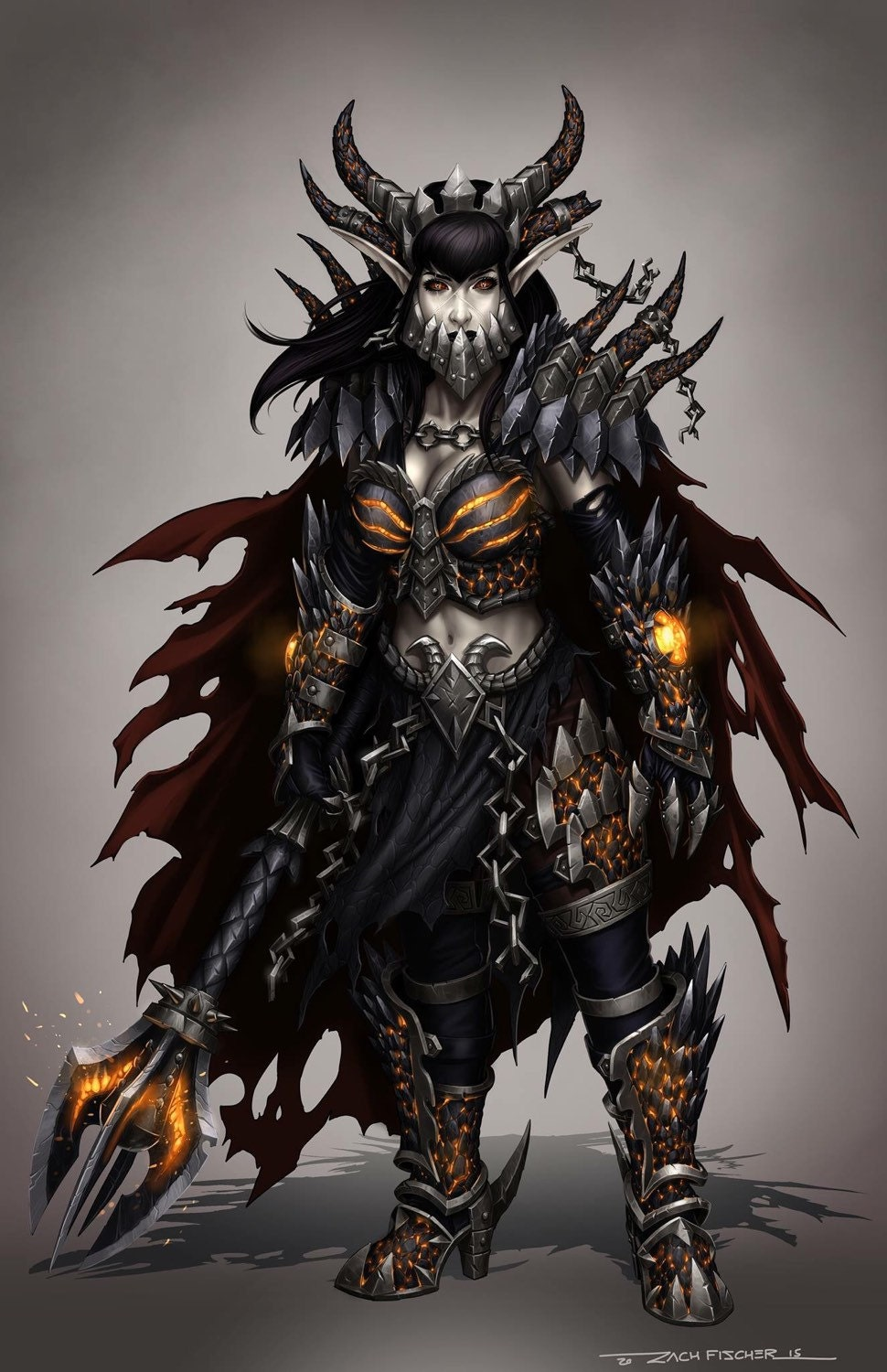 Lady Deathwing concept