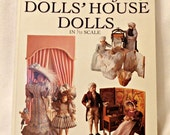 Making & Dressing Dolls' House Dolls In 1/12 Scale By Sue Atkinson – Miniature Clothing Patterns/Victorian/Rengency/Edwardian