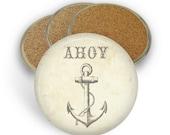 Ahoy Coaster Set - Drink Coasters