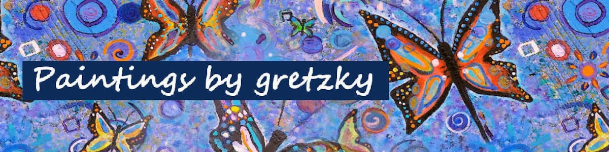 Paintings by gretzky