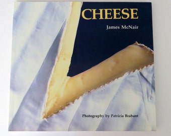 CHEESE Cookbook, James McNair, Vintage 70s, Color Photos,  Recipes