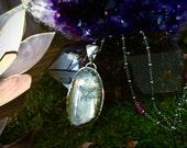 SALE-Morning Light- Blue Topaz Necklace