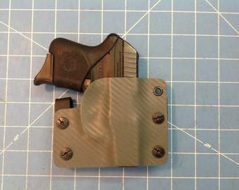 OD Green Carbon Fiber Kydex Retention Holster for Rugar LCP 380