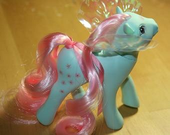G1 My Little Pony Flutter Pony Peach Blossom - Alternate Re-Hair & Re-Pro Wings