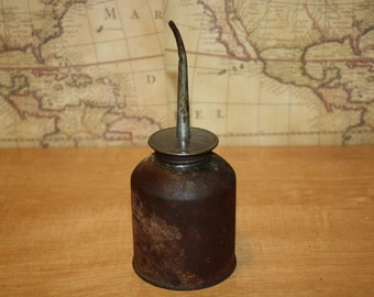 Vintage Rusty Oil Can - item #1697