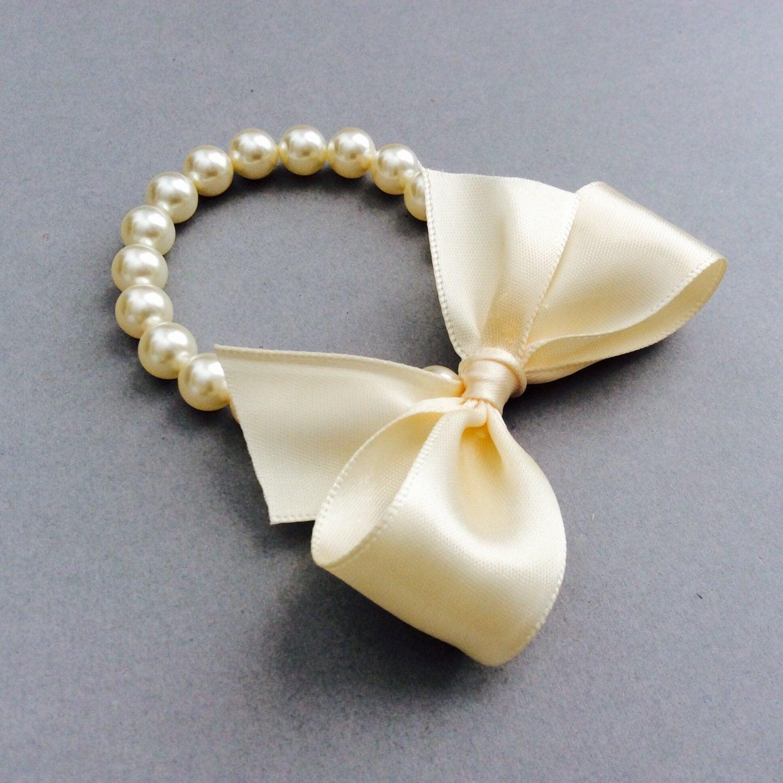 flower pearl bracelet flower gifts in