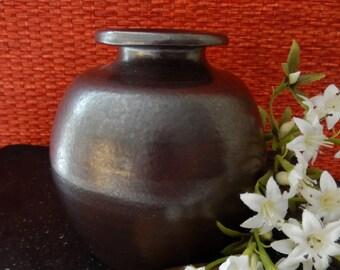 Vintage Bendigo Pottery Australia Salt Glazed Epsom Ware, Signed William Akkermans, Circa 1980s