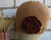 Bamboo Cotton Cap with Flower Soft, Comfortable and Lovely gift under 30 dollars
