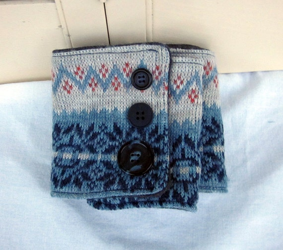 Ugly sweater scarf, men's wool scarf