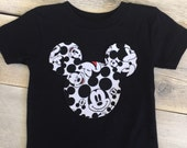 Mickey Mouse Faces Inspired Iron On Applique
