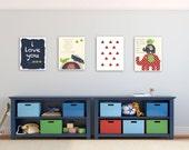 Kids Wall Art Nursery Art...