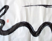 CHINESE CALLIGRAPHY-- DRAGON,The Symbol oF  Good Luck And Success
