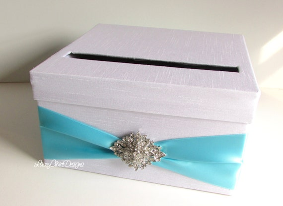 Wedding Shower Gift Card Box : ... Bridal Shower Card Box Baby Shower Card Holder Wedding Card Box Custom