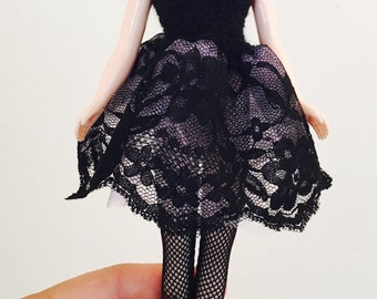 Blythe Ballerina Dress - Black Lace II