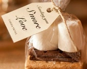 """200 Poly S'more Gusseted Favor Clear Bags Clear also for Candy, Cookies, and Popcorn 4""""x2""""x8"""""""