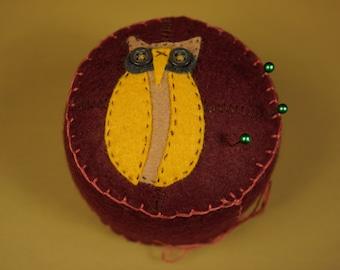 Owl See You Around Pincushion