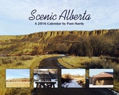 2016 Wall Calendar - Scenic Alberta - Reserved for Kathy R.