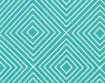 Sale, Minky Baby Blanket - Teal Diamonds - Personalization Options Available
