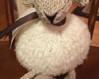 LaLa Lamb Knit Toy