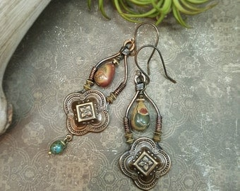 Qi - Art Earrings